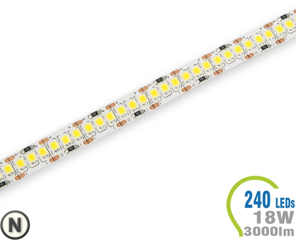 LED Stripe 240 LED/m 3000 lm/m A++ Neutralweiß