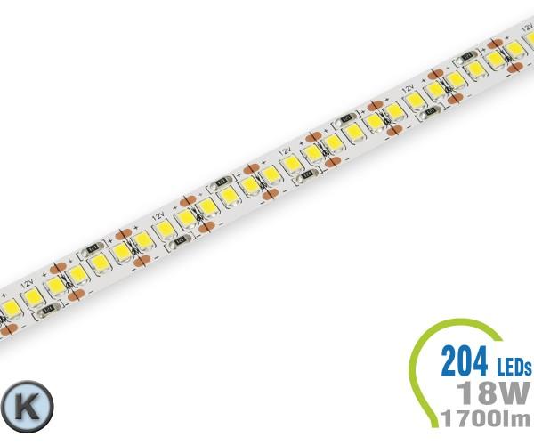 LED Stripe 204 LED/m 1700 lm/m Kaltweiß