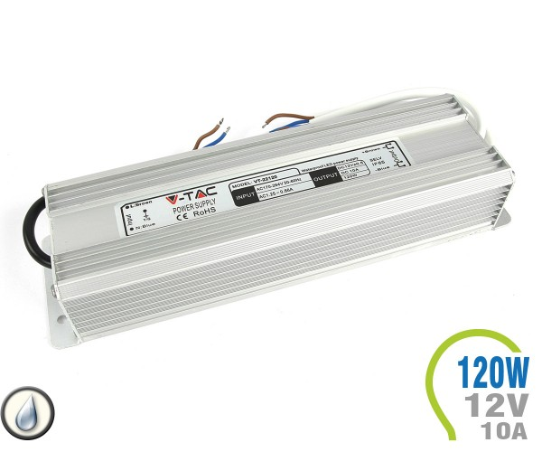 LED Netzteil 120W 12V 10A Metall IP65