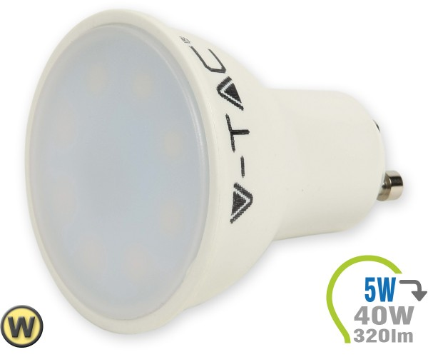 GU10 LED Lampe 5W Spot Warmweiß