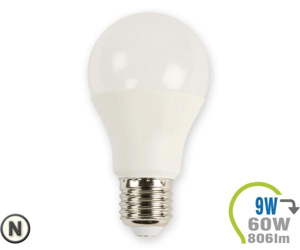 E27 LED Lampe 9W A60 Neutralweiß