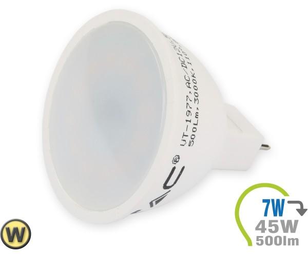 GU5.3 LED Lampe 12V 7W Spot Warmweiß