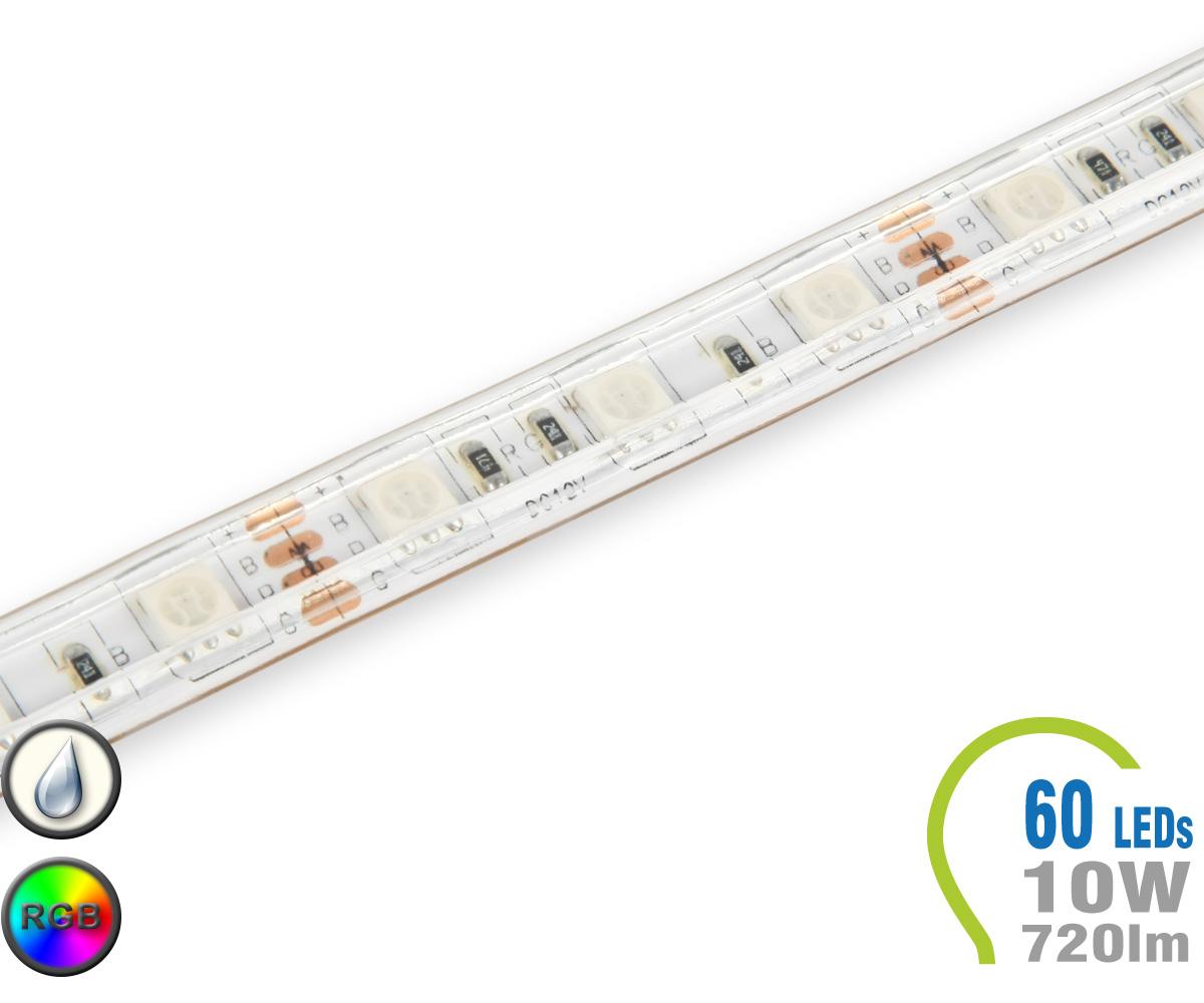 Led stripe 60 led m 720 lm m rgb ip65 flexible stripes for Lampen leuchten shop