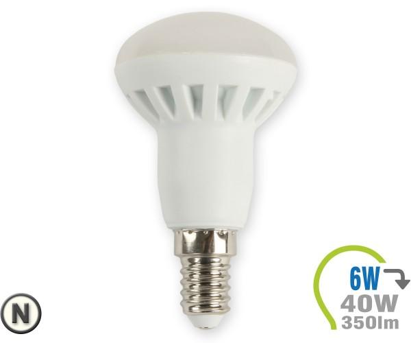 E14 LED Lampe 6W Spot R50 Neutralweiß