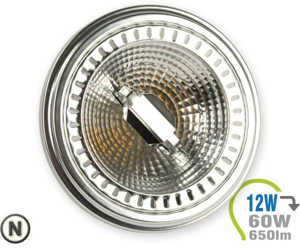 AR111 LED Lampe 12W GU10 Spot 40° Neutralweiß