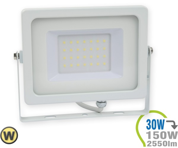 LED Strahler 30W SMD Slim Warmweiß