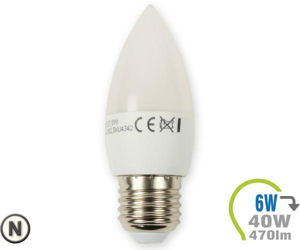 E27 LED Kerze 6W Neutralweiß