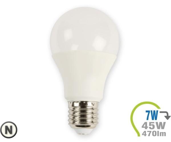 E27 LED Lampe 7W A60 Neutralweiß