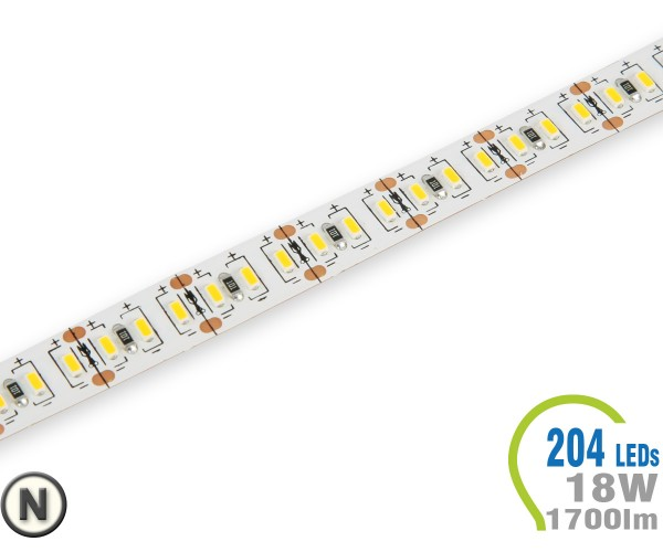 LED Stripe 204 LED/m 1700 lm/m Neutralweiß