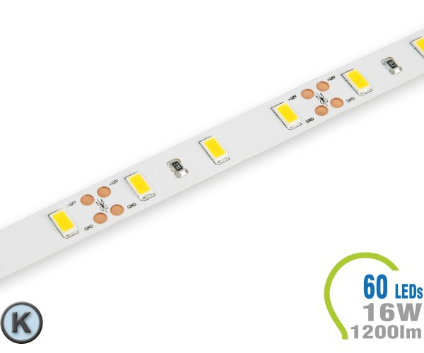 LED Stripe 60 LED/m 1200 lm/m Kaltweiß