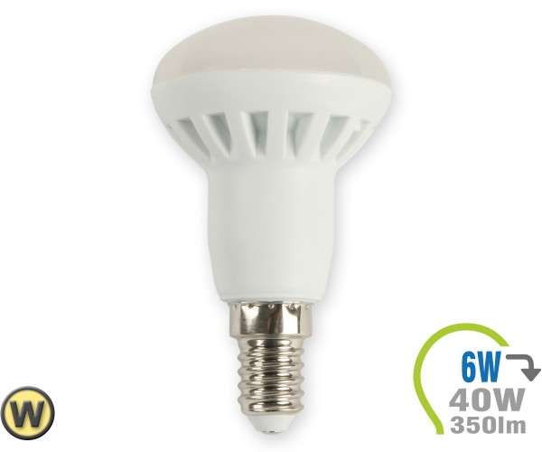E14 LED Lampe 6W Spot R50 Warmweiß