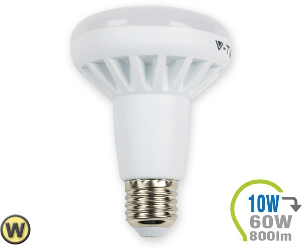 E27 LED Lampe 10W Spot R80 Warmweiß