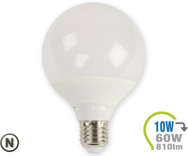 E27 LED Lampe 10W G95 Neutralweiß