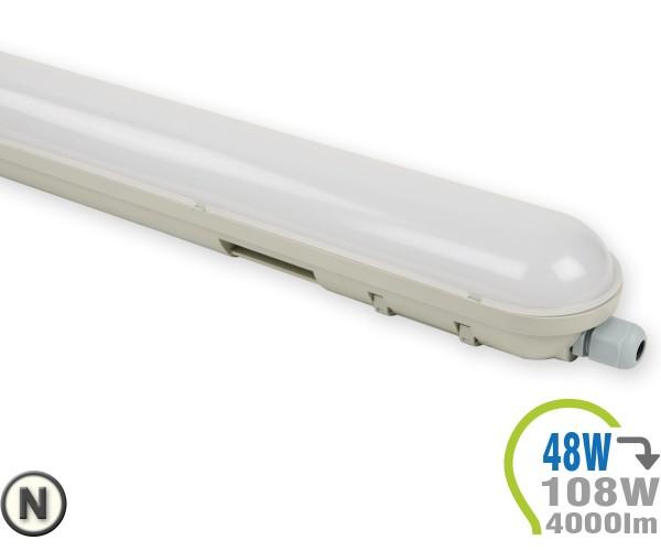 LED Tube Aufbauleuchte 48W 150cm IP65 Neutralweiß