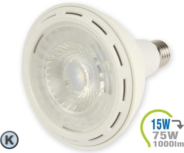 E27 LED Lampe 15W Spot PAR38 Kaltweiß