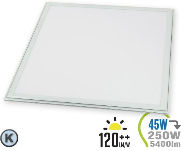 LED Panel 45W 60x60cm 5400lm inkl. Treiber Kaltweiß