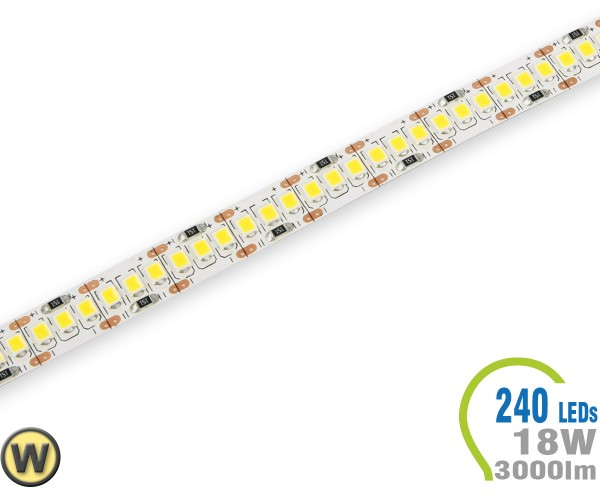 LED Stripe 240 LED/m 3000 lm/m A++ Warmweiß