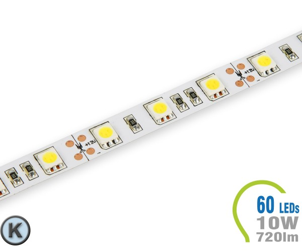 LED Stripe 60 LED/m 720 lm/m Kaltweiß