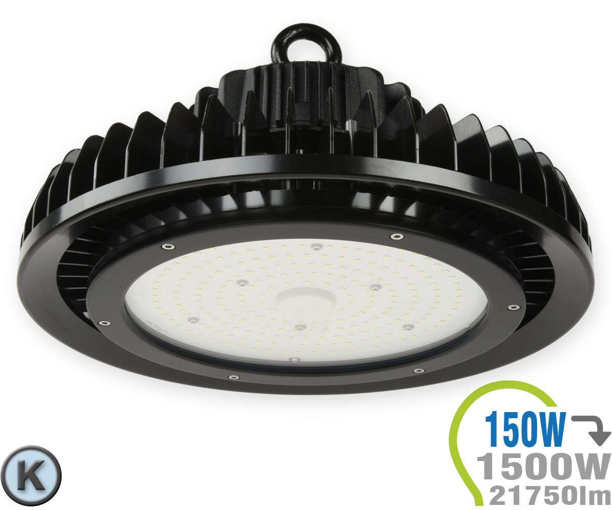 led hallenstrahler ufo 150w a kaltwei hallenstrahler led scheinwerfer led lampen. Black Bedroom Furniture Sets. Home Design Ideas