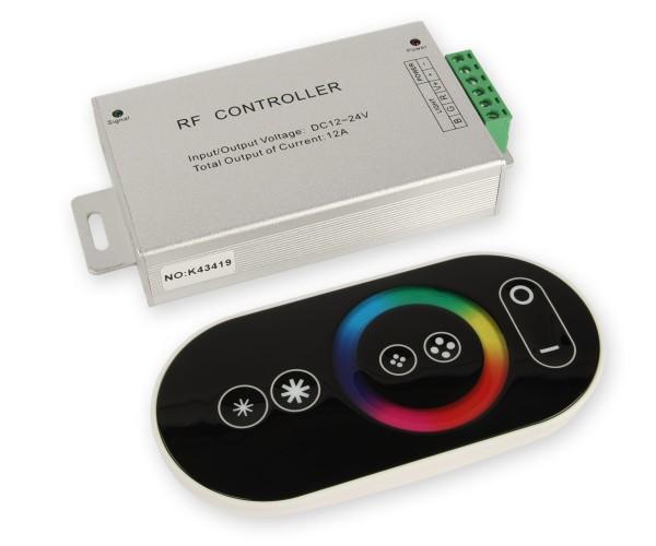LED RGB Controller 3x4A mit Touch Funkfernbedienung