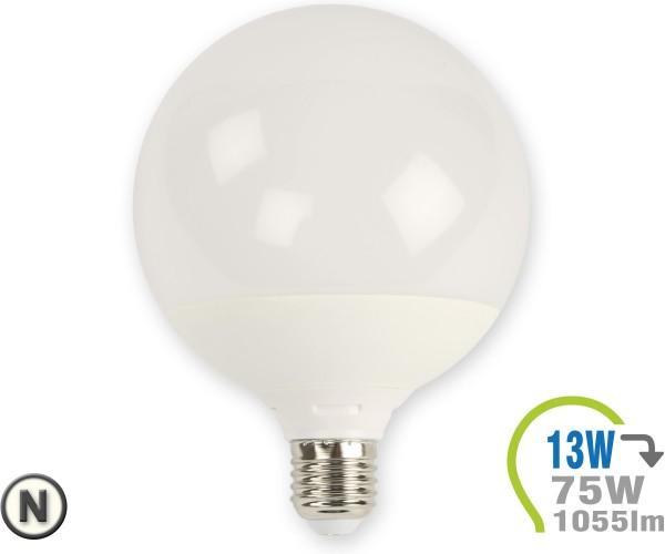 E27 LED Lampe 13W G120 Neutralweiß