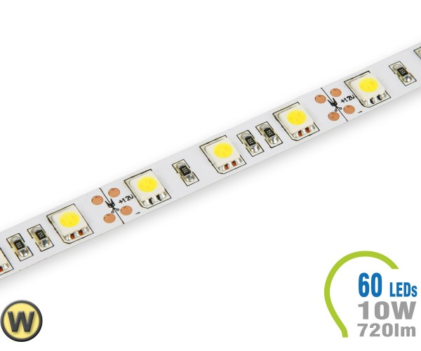 LED Stripe 60 LED/m 720 lm/m Warmweiß