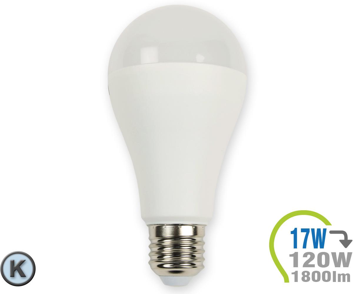 e27 led lampe 17w a65 kaltwei e27 led leuchtmittel led lampen leuchten shop. Black Bedroom Furniture Sets. Home Design Ideas