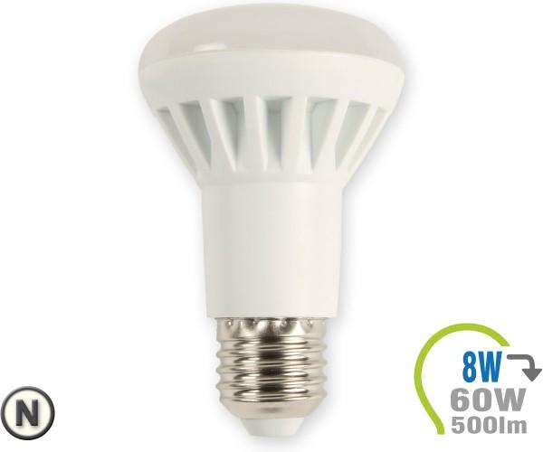 E27 LED Lampe 8W Spot R63 Neutralweiß
